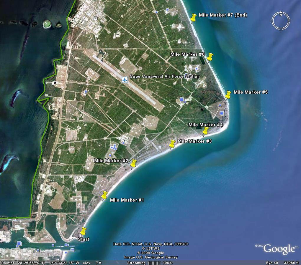 Location Of Port Canaveral Florida: Metadata And Database Access Instructions » Archie Carr