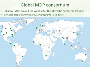 Global MDP Programs