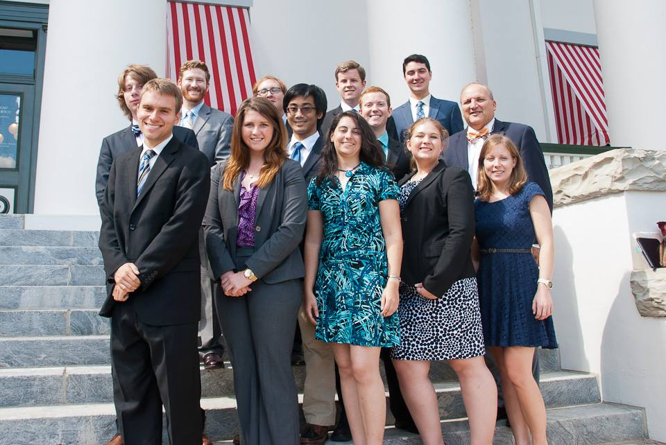 UF Campaigners on a field trip to Tallahassee, FL to meet with lobbyists and state politicians.