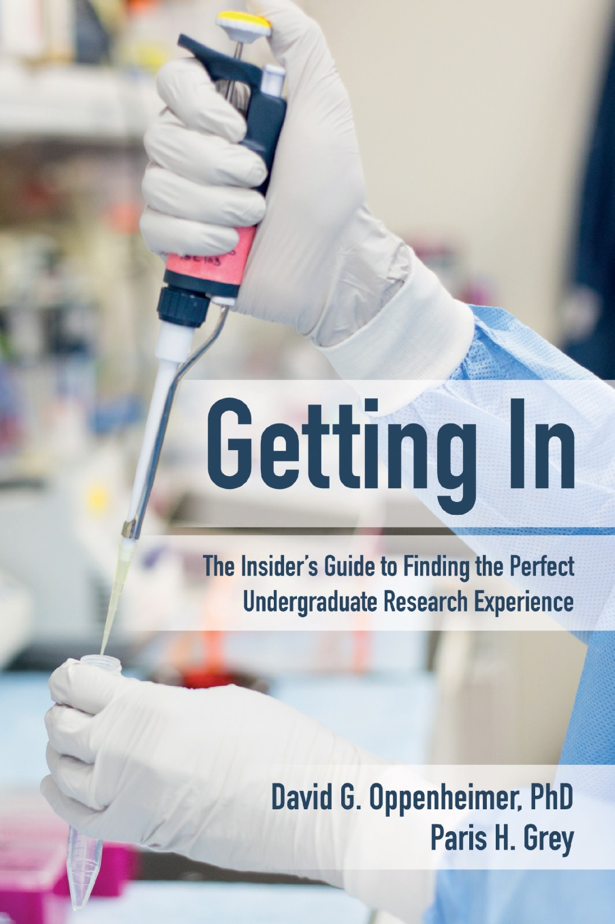 book cover for Getting Insiders Undergrad Research