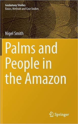 book cover for Palms and People in the Amazon