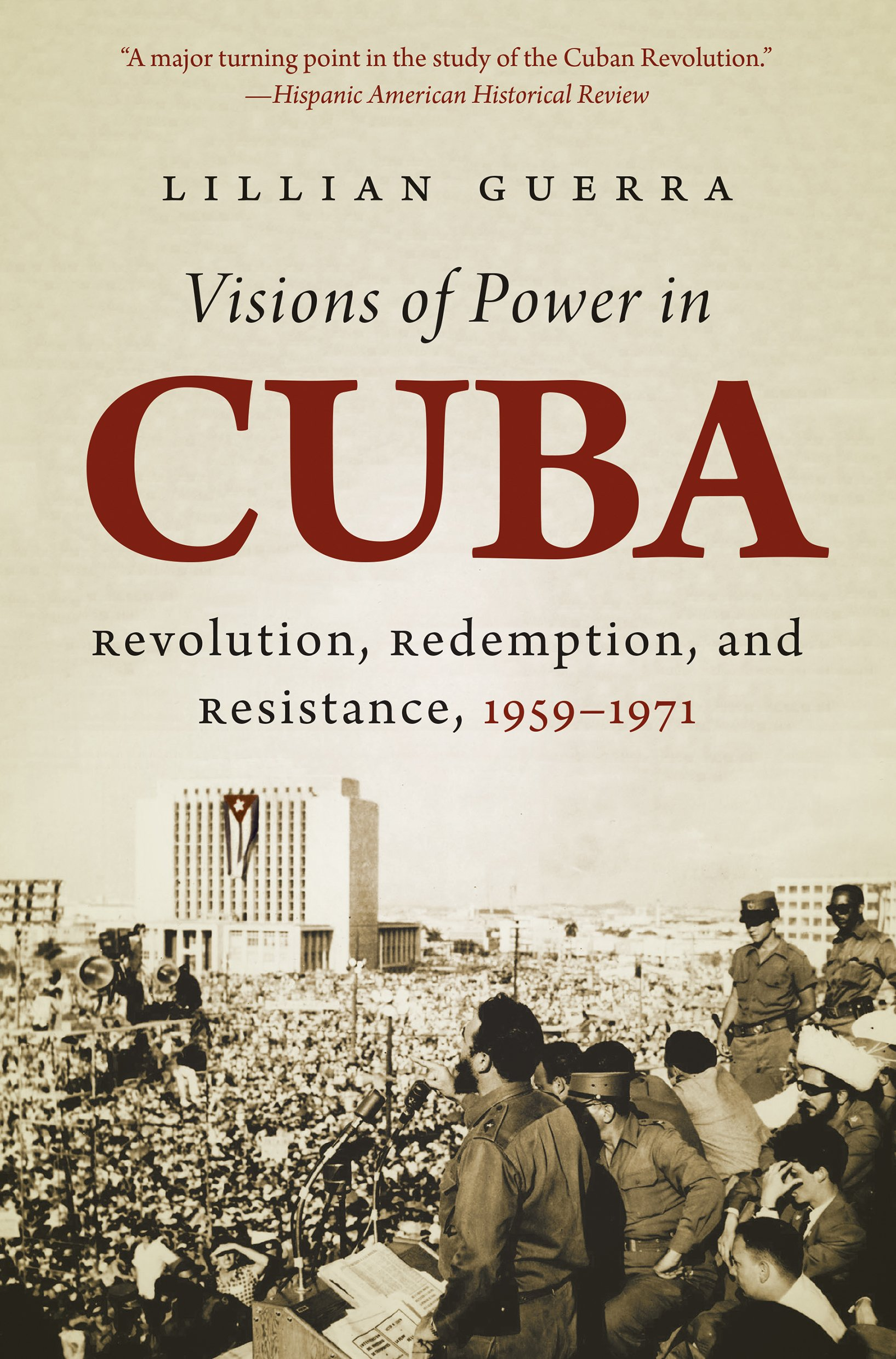 book cover of Visions of Power in Cuba