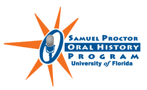 University of Florida Samuel Proctor Oral History Program Logo