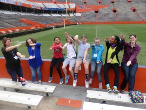 Gator pride at The Swamp